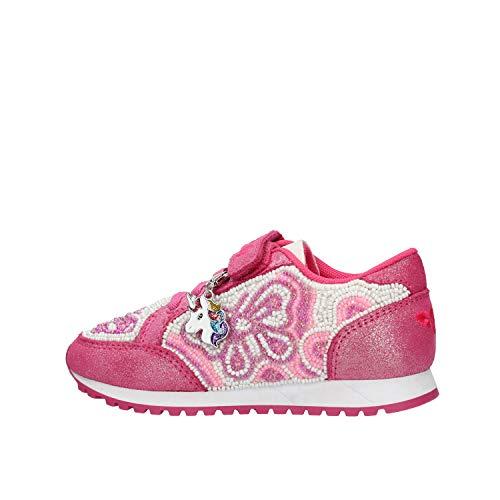 Lelli Kelly Prinzessin Sneaker bestickt, Pink - fuchsia - Größe: 29 EU