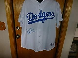 Kirk Gibson Autographed Signed MLBLos Angeles Dodgers Jersey (Size XL) Beckett Coa