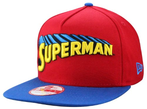 New Era Casquette Reverse Classics Superman Official Taille M/L