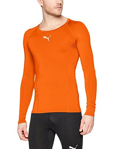 PUMA Liga Baselayer Sous-vêtement fonctionnel Homme Or Poppy FR : M (Taille Fabricant : M)
