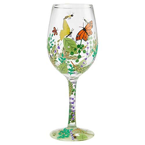 Lolita, Copa de vino con plantas y mariposas, Enesco