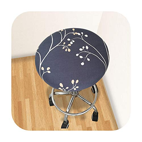 Slipcovers 1/2/4/6Pcs Floral Print Chair Covers Spandex for Wedding Dining Chair Cover Room Stretch Elastic Office Banquet-K-1Pc