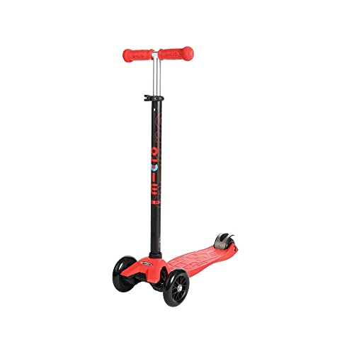 Micro Scooter Maxi mit rotem Lenker
