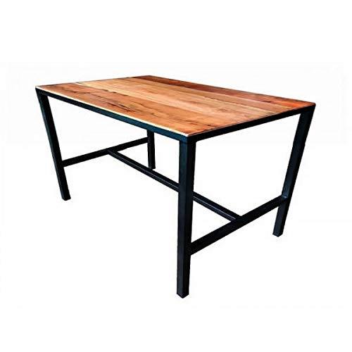 MATHI DESIGN Table à Manger 4 Places en Bois L110