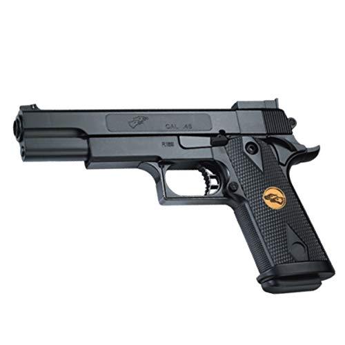 Rayline Softair Pistole RP169 Gun ABS 1:1 24,6cm 300g 6mm <0,5 Joule ab 14 Jahre