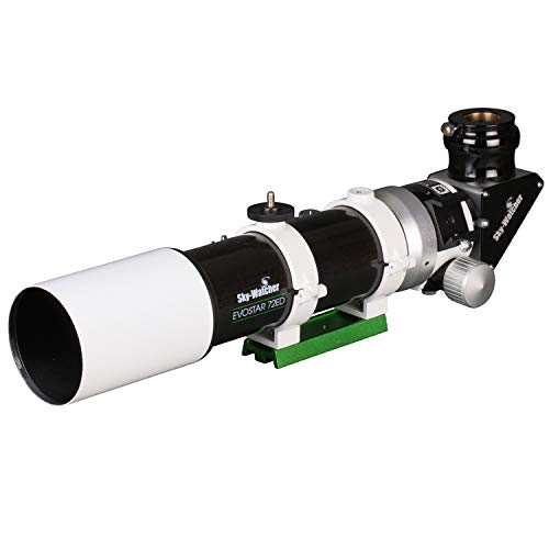 Sky-Watcher EvoStar 72 APO Doublet Refractor – Compact and Portable Optical Tube for Affordable Astrophotography and Visual Astronomy