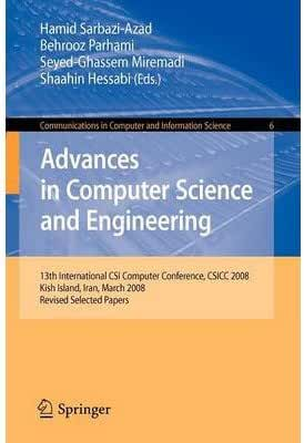 [(Advances in Computer Science and Engineering: Revised Selected Papers )] [Author: Hamid Sarbazi-Azad] [Feb-2009]