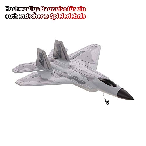 Himoto HSP F-22 Raptor 2.4GHz RC ferngesteuertes Kampf-Jet, RC Flugzeug Flieger, Kampfflugzeug, Ready-to-Fly - Komplett-Set