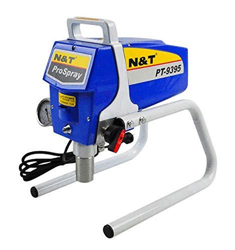 Sin aire de alta presión de la máquina de pulverización Airless Profesional Pistola de pulverización Airless pintura en aerosol pulverizador Wall pulverizador de pintura PT-9395