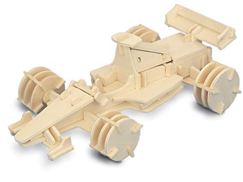 Quay- Formula 1 Woodcraft Construction Kit FSC construcción
