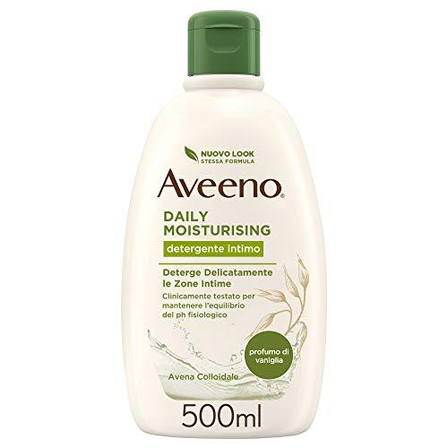 Aveeno Detergente Intimo, Daily Moisturising, Profumo di Vaniglia, Extra-Delicato 500 ml