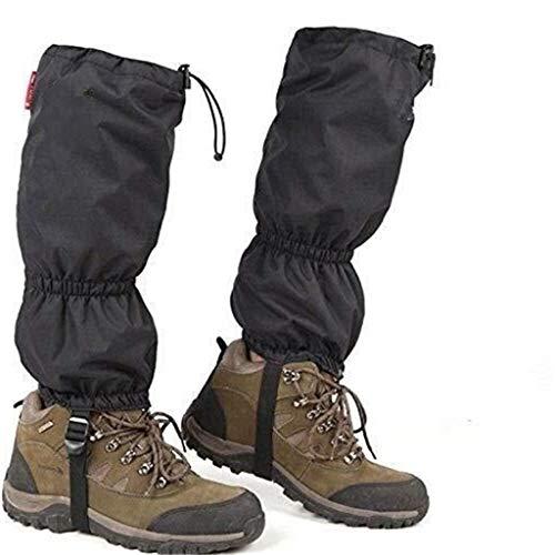 Bbai Escursionismo Ghette Leg Protezione out Ghette Esterna Traspirante Snake Ghetta Walking Impermeabile e Regolabile Doposci Ghette ripari Ghette 0423