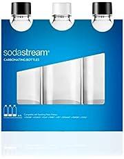 SodaStream Bottiglie Universali per gasatore d'acqua, Capienza 1 Litro, Confezione da 3
