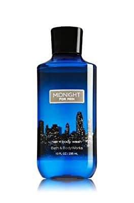 Bath & Body Works Midnight Men's Collection 2-In-1 Hair & Body Wash, 10 Fluid Ounce