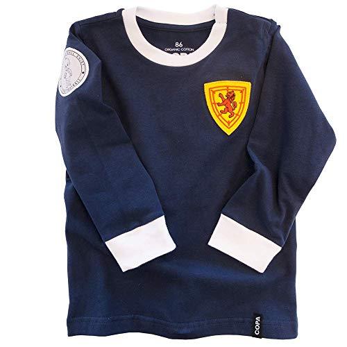 COPA Football - Scotland 'My First Football Shirt' Baby - Blau