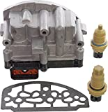 APDTY 709211-Kit Automatic Transmission Shift Control Solenoid Block Pack Includes Gasket & Input & Output Speed Sensor (Replaces Mopar 5015646AC, 5140429AA, 5015646AB, 4504570AB; Made In USA!)