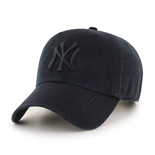 '47 New York Yankees Gorra, (Black & White), (Talla del Fabricante: Talla...