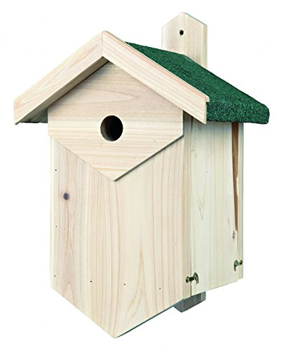 TRIXIE Nichoir pour Oiseau Nichant dans Cavité 25 × 40 × 22 cm/Diamètre 34 cm