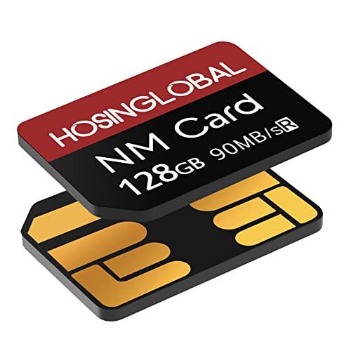 Tarjeta NM 128GB 90MB/S Tarjeta de memoria Nano Tarjeta Nano Solo tarjeta NM Adecuado para Huawei P30/P30pro/Mate20 Series/Mate30 Series/Mate40/Mate40pro Tarjeta Nano 128GB
