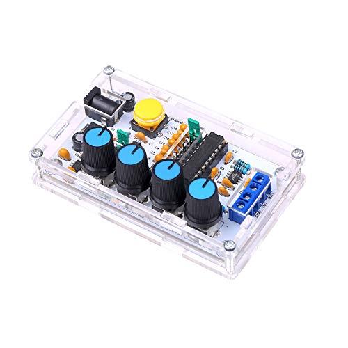 Rantoloys MAX038 Signalgenerator DIY Kit 1Hz ~ 20MHz Funktionsgenerator Hochgeschwindigkeits-Operationsverstärkergenerator Sinus/Dreieck/Rechteck/Sägezahn