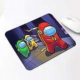 rickie_cao Tappetino per Mouse per Cartoni Animati Kawaii Tappetino Grande Pads Impermeabile Dwaterproof Water Decorazione dell'ufficio Home Cup Table Gomma Antiscivolo Girls Boys Room 20x24cm