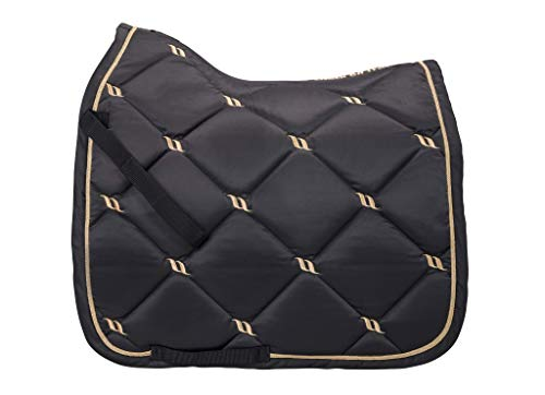 Back on Track® Welltex Nights Collection Saddle Pad Dressage Graphite Gr. Full