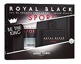 Coffret cadeau pour homme ROYAL BLACK SPORT: Eau de toilette 100 ml + Savon douche 100 ml d'ARNO SOREL