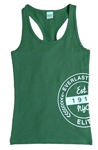 Everlast Tank Top (Top) 22W626J60C Frau Tarnung Tarnung Jersey Stretch Green (Green),L