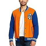 Dragon Ball Z Pijama 2 Piezas Goku Camiseta Shorts Elven Forest algod/ón Naranja Azul