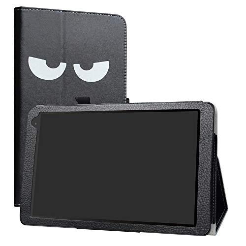 Alcatel 1T 10inch Funda,LiuShan Folio Soporte PU Cuero con Funda Caso para 10' Alcatel 1T 8082 10inch(Not fit Alcatel 1T 7 Inch 8068) Android Tablet,Don't Touch
