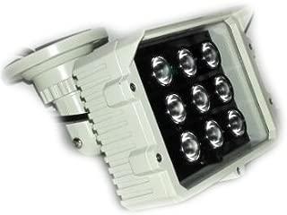 CMVision IR9 WideAngle 60-80 Degree 9pc Power LED IR Array Illuminator (2A UL Power Included)