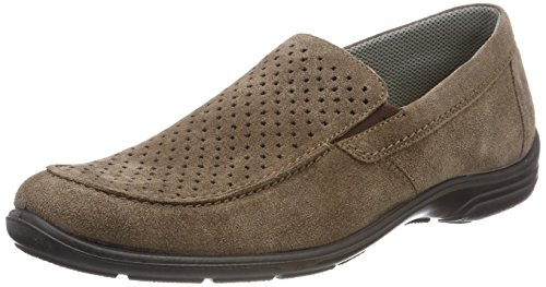 Jomos Herren Forum Slipper, Braun (Almond), 47 EU