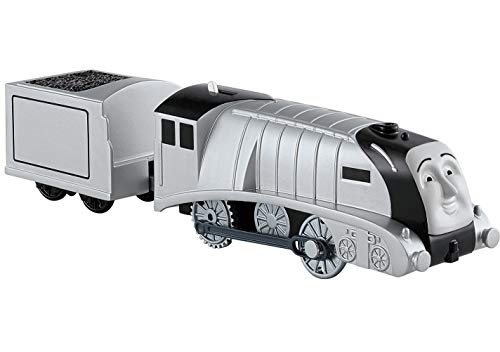 Thomas & seine Freunde CBY00 - Spencer Zug, batteriebetriebene Trackmaster Lok, Spielzeug ab 3 Jahren