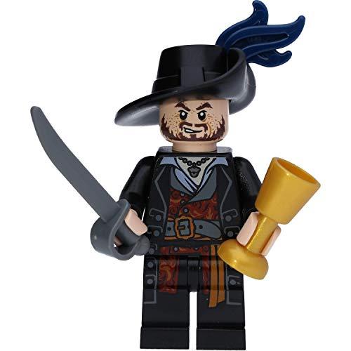 LEGO Pirates of The Caribbean Minifigur: Hector Barbossa (Fluch der Karibik)