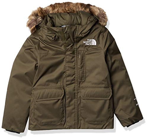 The North Face Kids Girl's Greenland Parka (Little Kids/Big Kids) New Taupe Green XS (6 Little Kids)