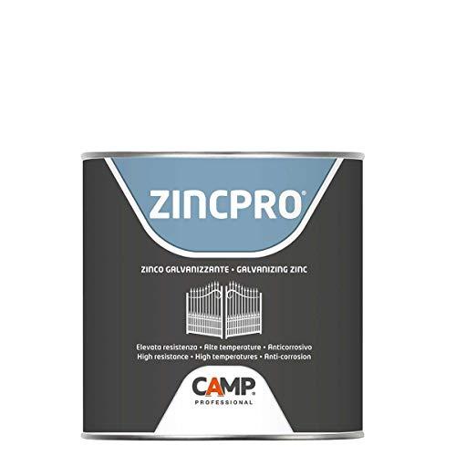 Camp 1035 001 Zinc Pro Liquido, Zinco Galvanizzante, Protettivo, Antiossidante, 1 Lt