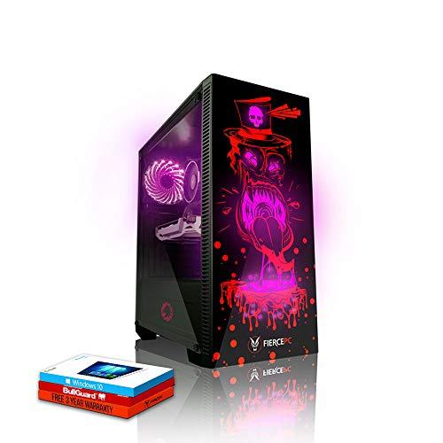 Fierce Enforcer High-End RGB Gaming PC - Veloce 4.3GHz Octa-Core AMD Ryzen 7 2700X, 240GB SSD, 1TB Disco Rigido, 16GB 3000MHz, NVIDIA GeForce RTX 2070 Super 8GB, Windows 10 installato 981949