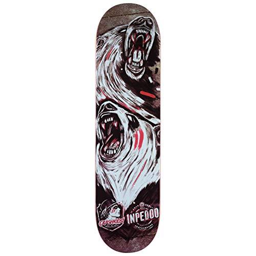 Inpeddo x CrashKids! Skateboard Deck (Multi) 8.125