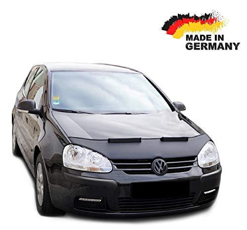 Black Bull Haubenbra für VW Golf 5 Jetta 5 Steinschlagschutz Motorhaubenschutz Automaske