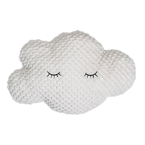 Bloomingville Kissen Cloud, weiß, Polyester