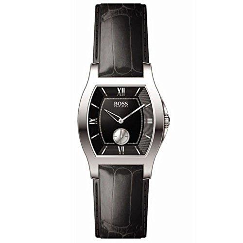 Hugo Boss 1502033 – Reloj de mujer de cuarzo con correa de piel negra