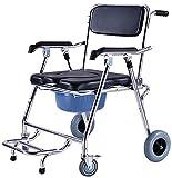 Rollator Walker Mobility Ayuda para caminar para adultos Ancianos confiar en silla de ducha para caminar Silla de la habitación con la silla de silla de ruedas Moderno de la cama de la cama y el baño;