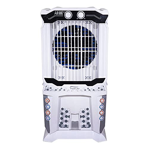 Air king 75 L Tower Air Cooler (White, 75 Liter Air Cooler Large Cooling Capacity Inverter Operated   Turbo Fan Technology   Honey Comb Pads With Plastic Net.) (5)