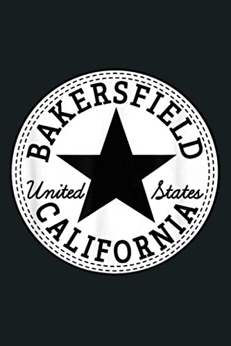 Bakersfield California USA United States Skater Outfit: Notebook Planner -6x9 inch Daily Planner Journal, To Do List Notebook, Daily Organizer, 114 Pages