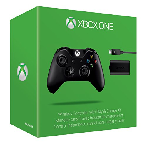 Xbox One Wireless Controller and Play & Charge Kit (Without 3.5...