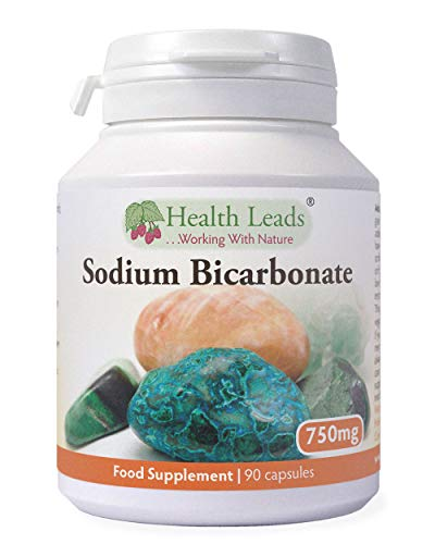 Sodium Bicarbonate 750mg x 90 Capsules (100% Additive Free Supplements)
