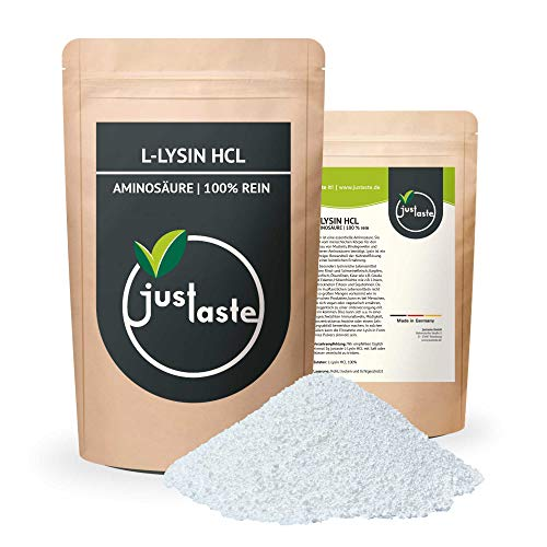 2 kg L-Lysin HCL Pulver | Nahrungsergänzung | 100% rein | Aminosäure