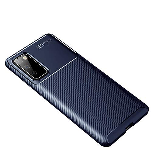 GOGME Passend für Samsung Galaxy S20 FE 5G Hülle, Elegantes Design Gleichzeitig Robust, Has a 360 Grad Schock Kratz Stoßfänger Schutzschicht. Blau