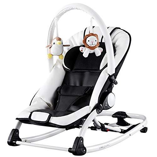 NROCF Baby-Wiege - Elektro-Schaukelstuhl, Kinder Beruhigen Schaukelstühle, Multifunktions Kleine Shaker Baby Schnuller