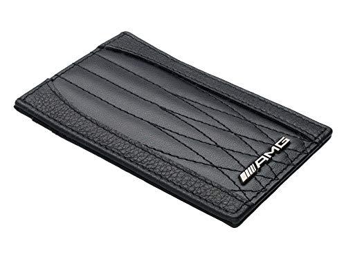 Mercedes-Benz Collection 2020 AMG Kreditkartenetui mit Geldscheinklammer, schwarz